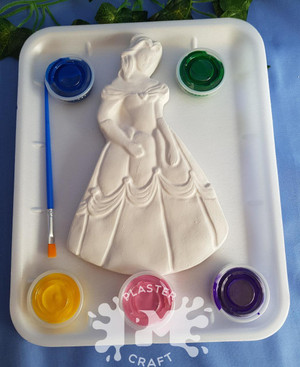PM Plaster Craft Princess Belle Medium Gift Pack