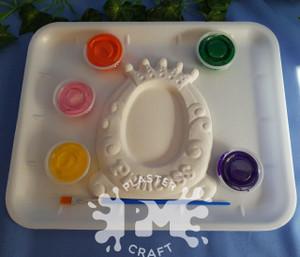PM Plaster Craft Princess Photo Frame Medium Gift Pack