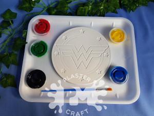 PM Plaster Craft Wonder Woman Emblem Medium Gift Pack