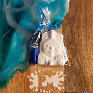 PM Plaster Craft Thomas Party Favour