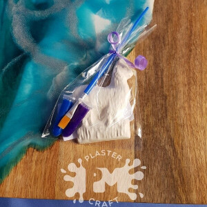 PM Plaster Craft Llama Party Favour