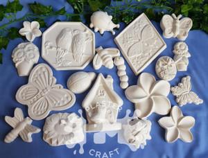 PM Plaster Craft Garden Party Plaster Bulk Pack