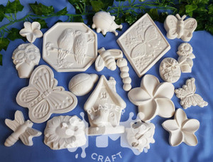 PM Plaster Craft Garden Party Plaster Bulk Pack