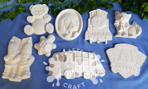 PM Plaster Craft Little Creatives Bulk Pack