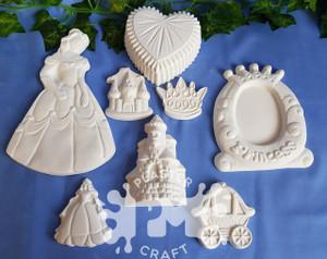 PM Plaster Craft Princess Collection Bulk Pack