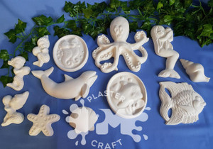 PM Plaster Craft Under The Sea Bulk Pack