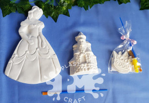 PM Plaster Craft Princess Party Bundle