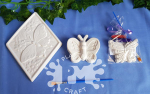 PM Plaster Craft Butterfly Party Bundle