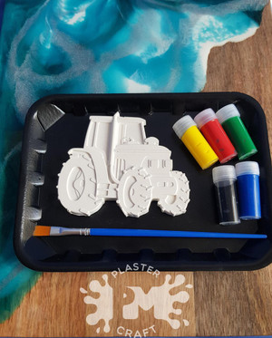 PM Plaster Craft Tractor Small Gift Pack