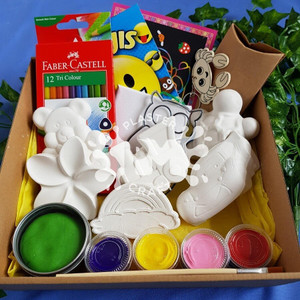 PM Plaster Craft Kids Activity Hamper