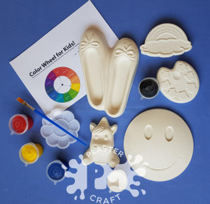 Cheerful Days Plaster Painting- Creative Kids Package