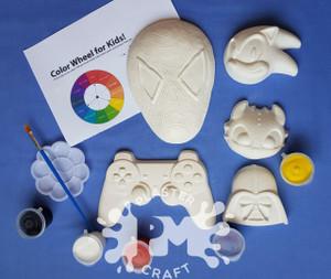 Gamers Joy Plaster Painting- Creative Kids Package