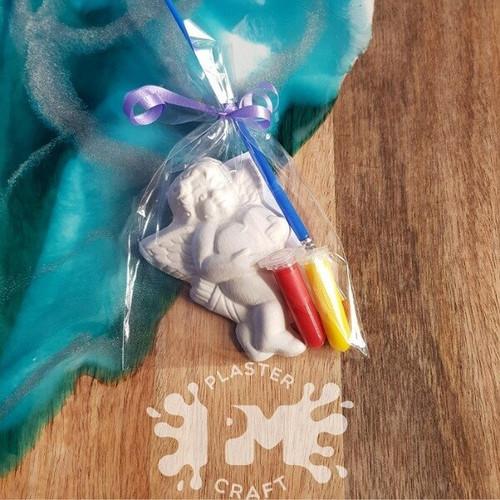 PM Plaster Craft Cherub Party Favour