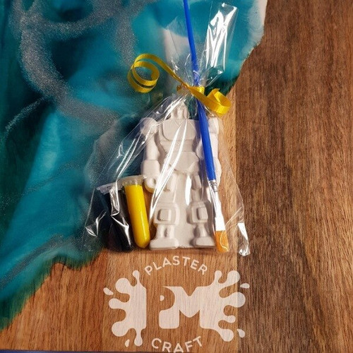 PM Plaster Craft Transformers Party Favour