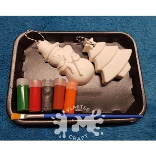 PM Plaster Craft Small Ornament Gift Pack