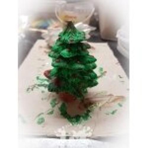 PM Plaster Craft 3D DIY Christmas Tree