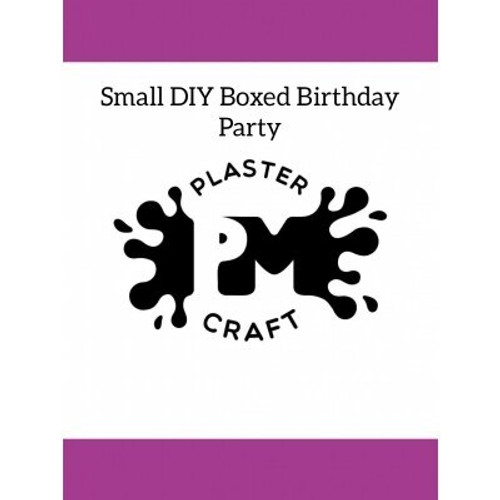 PM Plaster Craft Small DIY Boxed Plaster Party
