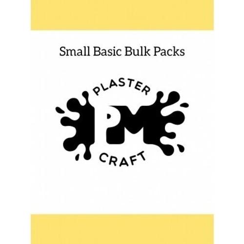 PM Plaster Craft Small Basic Bulk Packs