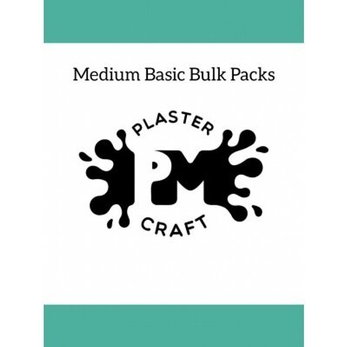 PM Plaster Craft Medium Basic Bulk Pack