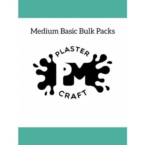 PM Plaster Craft Medium Basic Bulk Pack