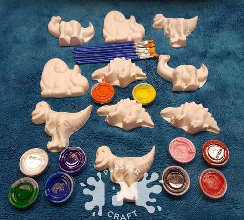 PM Plaster Craft Dino Basic Bulk Pack
