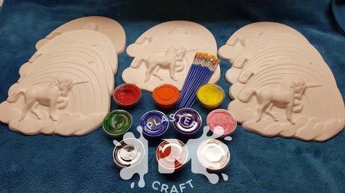PM Plaster Craft Large Unicorn Basic Bulk Pack