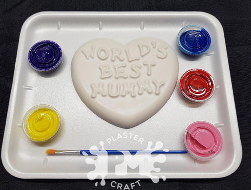 PM Plaster Craft Worlds Best Mummy Gift Pack