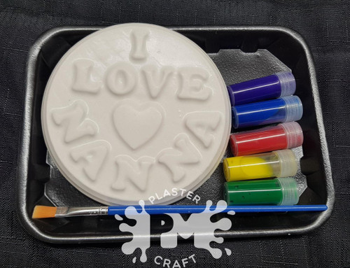 PM Plaster Craft I love Mummy, Nanna or Grandma Gift Pack