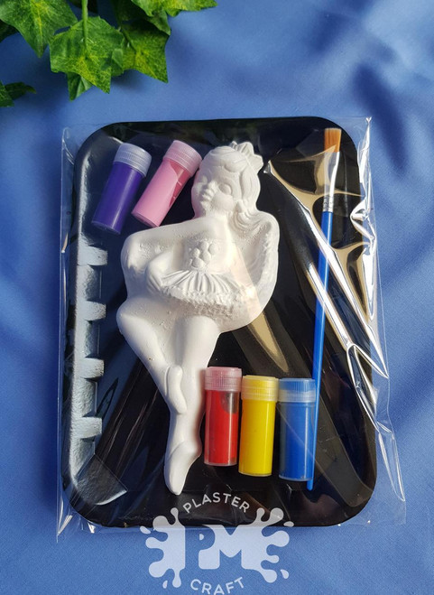 PM Plaster Craft Ballerina Small Gift Pack