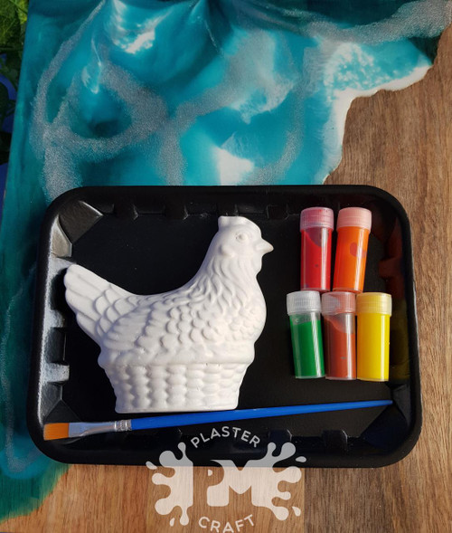 PM Plaster Craft Chicken Small Gift Pack