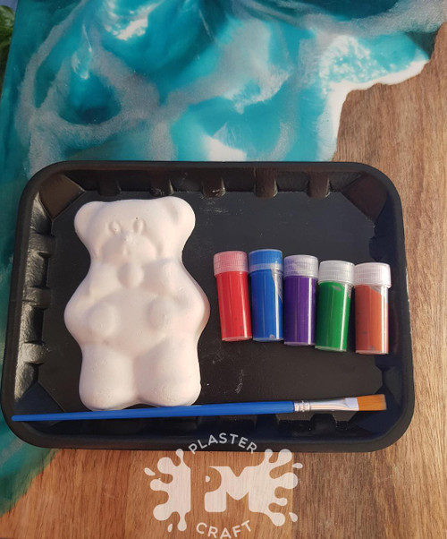 PM Plaster Craft Teddy Bears Small Gift Pack