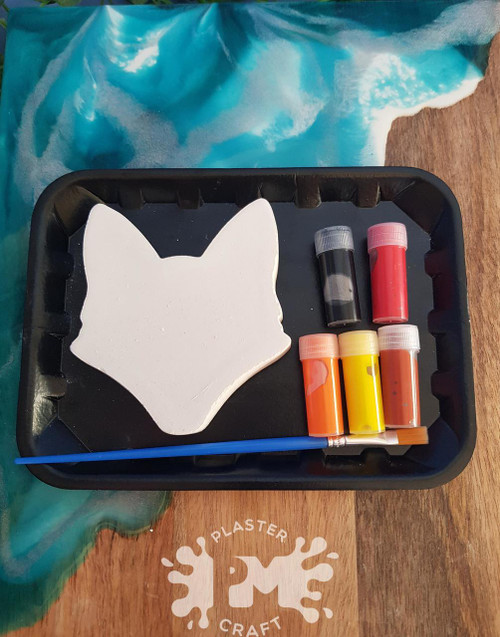 PM Plaster Craft Fox Silhouette Small Gift Pack