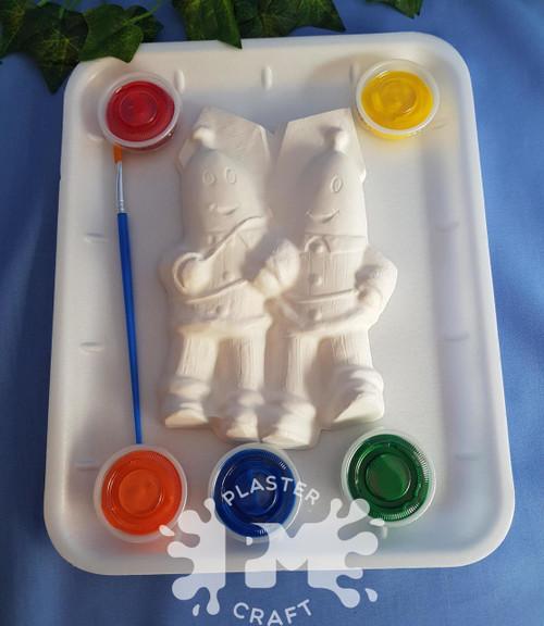 PM Plaster Craft Bananas In Pyjamas Medium Gift Pack