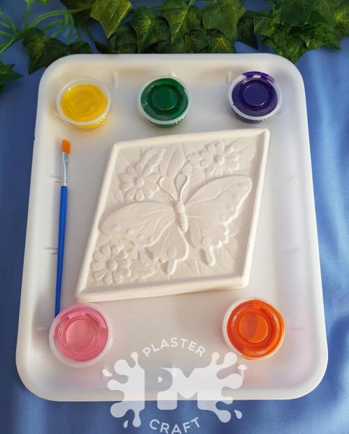 PM Plaster Craft Butterfly Diamond Medium Gift Pack