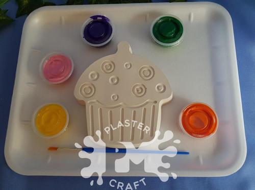 PM Plaster Craft Cupcake Plaster Medium Gift Pack