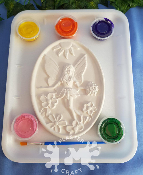 PM Plaster Craft Fairy Garden Medium Gift Pack