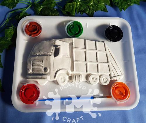 PM Plaster Craft Garbage Truck Medium Gift Pack