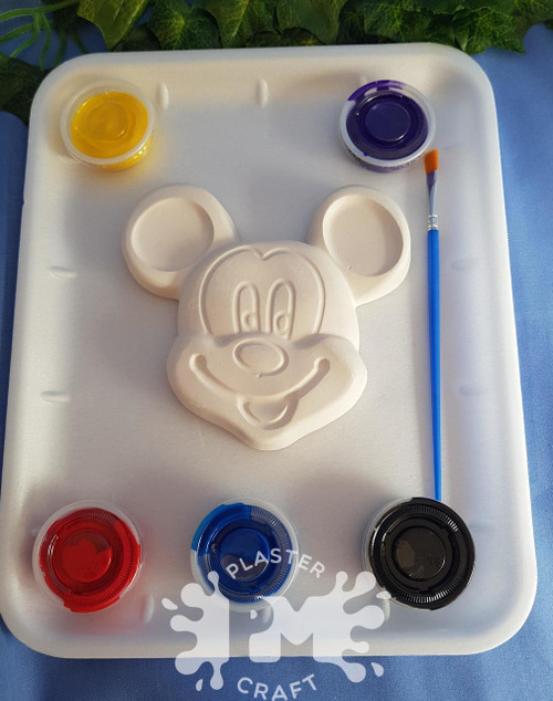 PM Plaster Craft Mickey Mouse Medium Gift Pack