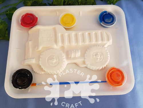 PM Plaster Craft Dump Truck Medium Gift Pack