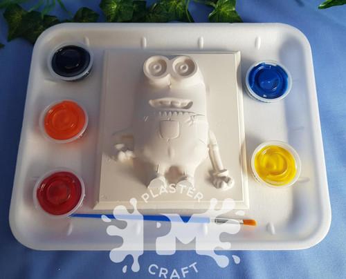 PM Plaster Craft Stuart Minion Medium Gift Pack
