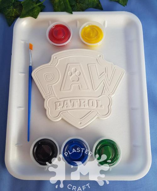 PM Plaster Craft Paw Patrol Emblem Medium Gift Pack