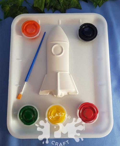 PM Plaster Craft Rocket Medium Gift Pack