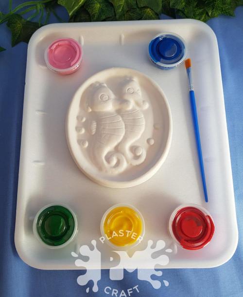 PM Plaster Craft Seahorse Medium Gift Pack