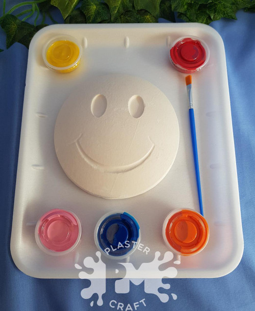 PM Plaster Craft Smiley Face Medium Gift Pack