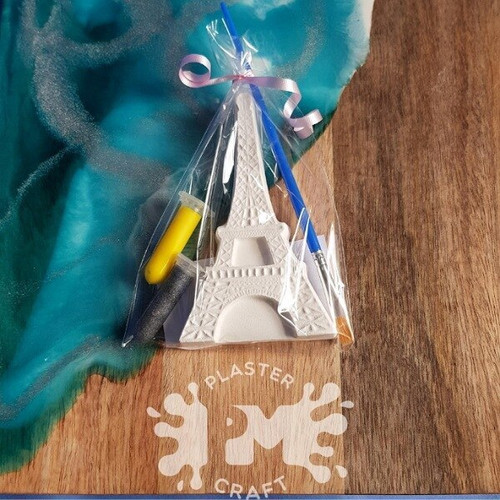 PM Plaster Craft Eiffel Tower Party Favour