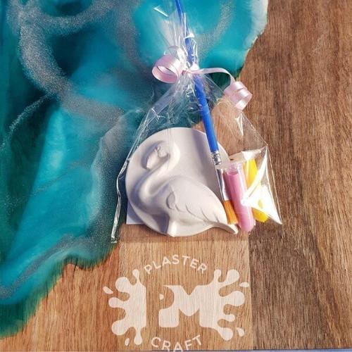 PM Plaster Craft Flamingo Party Favour