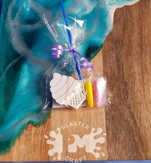 PM Plaster Craft Ice Cream Party Favour