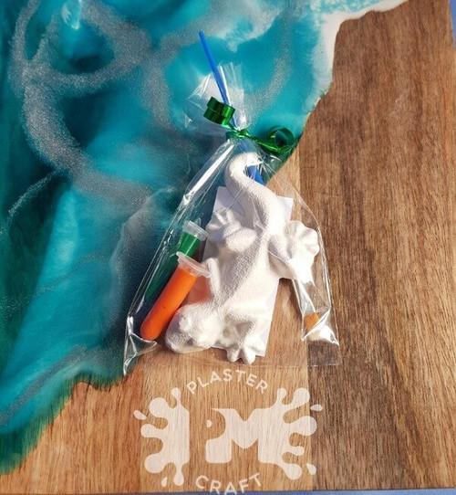 PM Plaster Craft Lizard Party Favour