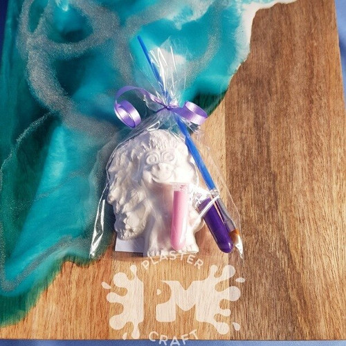 PM Plaster Craft Girl Troll Party Favour