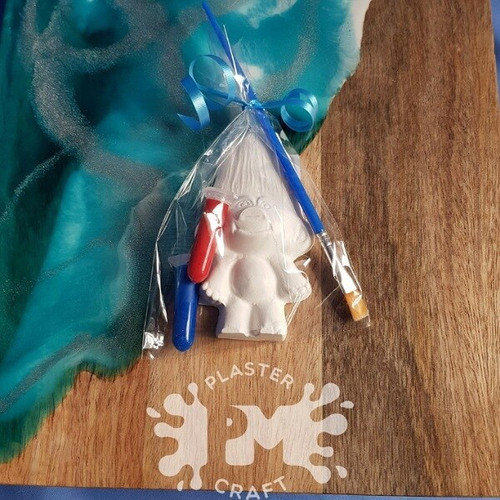 PM Plaster Craft Boy Troll Party Favour